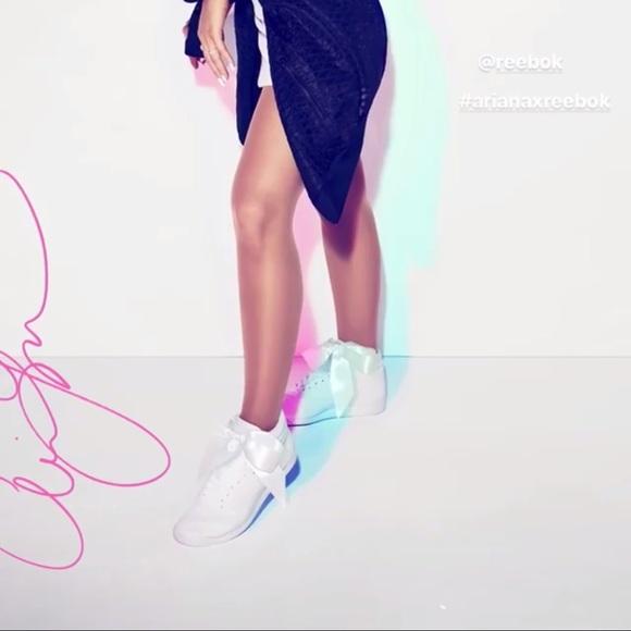 mejores ofertas en nuevo autentico varios estilos Reebok Shoes | Ariana Grande Bow | Poshmark